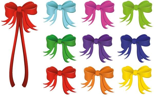 600x380 Vector Holiday Ribbon
