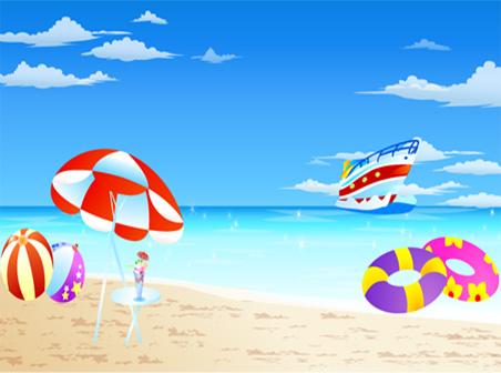 452x336 Holiday Vector Seaside Resort