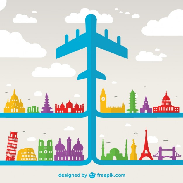 626x626 Air Travel Holiday Vector Vector Free Vector Download In .ai
