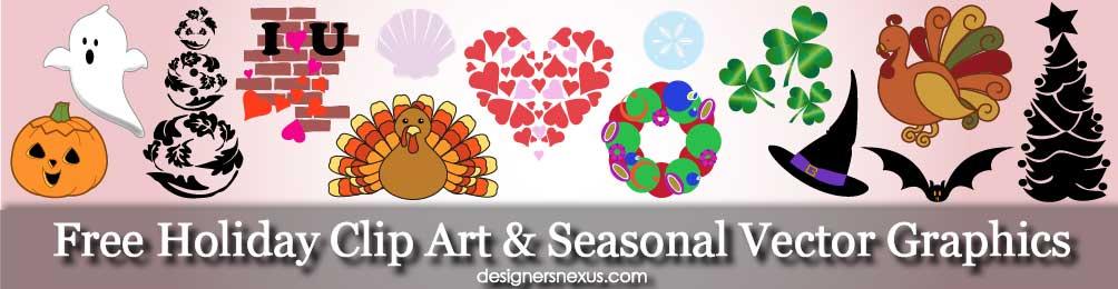 1004x260 Free Dowloads Holiday Clip Art Amp Seasonal Vector Graphics