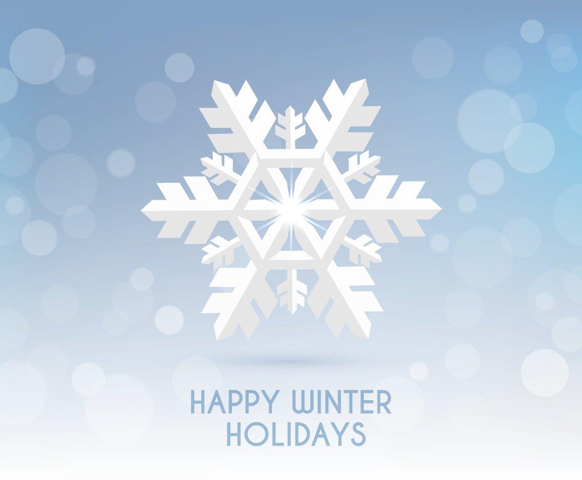 1136x936 Happy Winter Holidays Vector Art Amp Graphics
