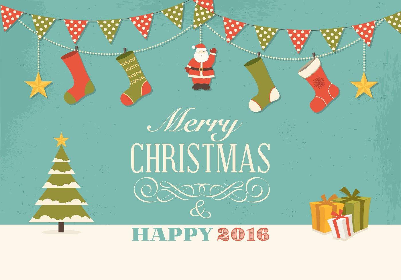 1400x980 Free Christmas Vector Graphics