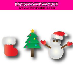 250x250 Holiday Vector Graphics To Download