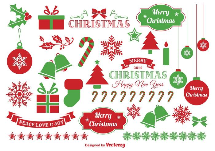 700x490 Jingle Bells Christmas Vector Elements