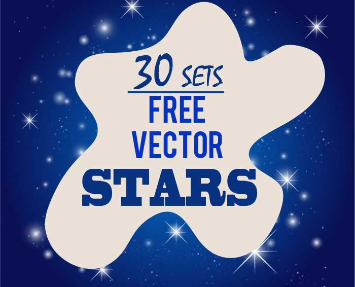 700x566 Stars Clip Art 30 Sets Of Free Vector Graphics For Holiday Designs