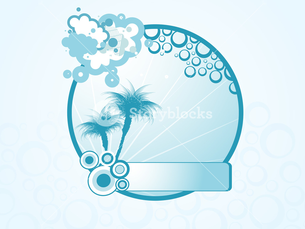 1000x750 Summer Holiday Vector Design9 Royalty Free Stock Image