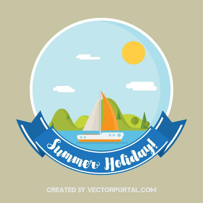 660x660 Summer Holiday Vector Graphics