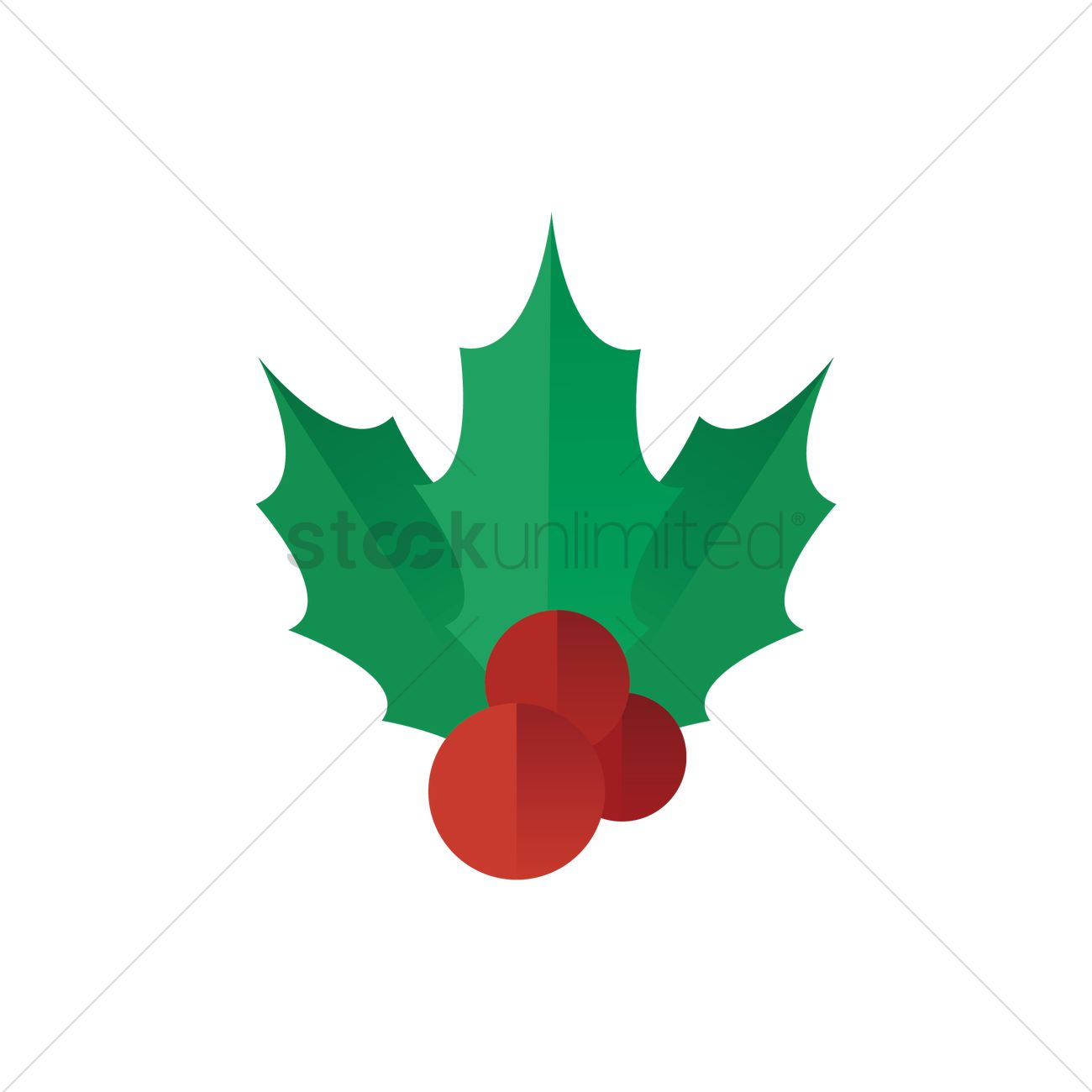1300x1300 Free Holly Berry Vector Image