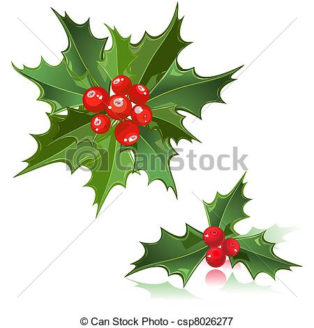 450x470 Christmas Flower Holly Berry.