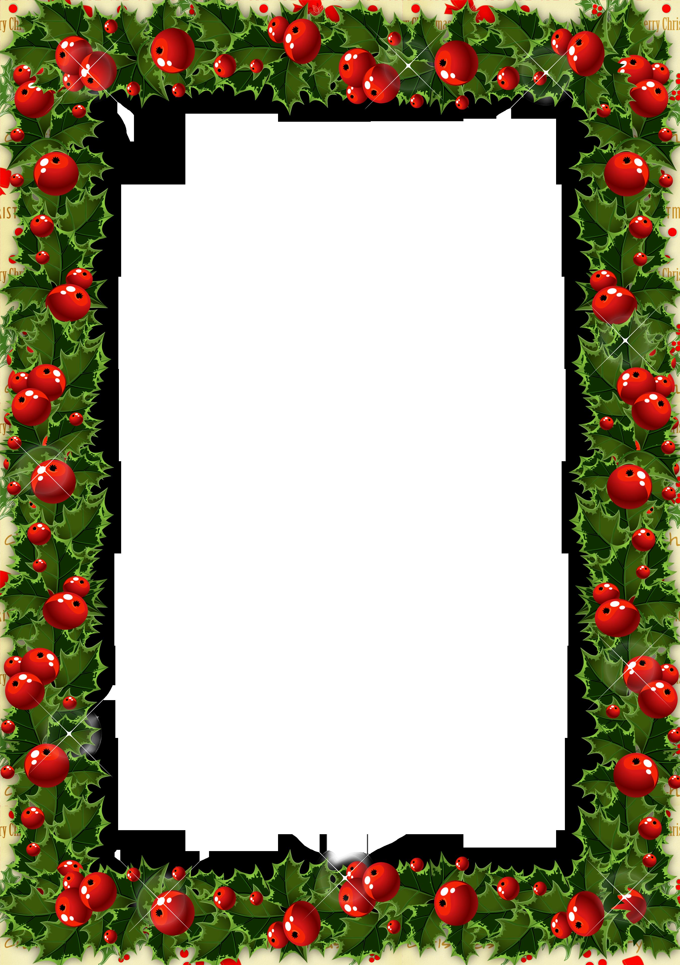 2700x3829 15 Transparent Holly Border For Free Download On Mbtskoudsalg