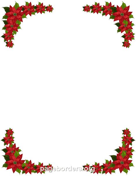 470x608 Holly Border Clip Art Free Free Winter Borders Clip Art