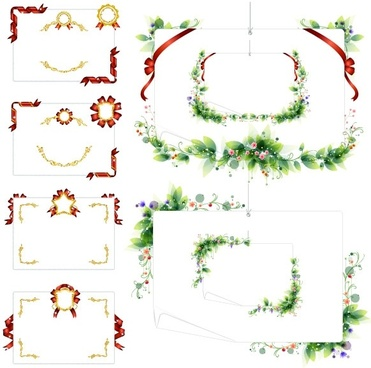 371x368 Vector Festive Holly Border Free Vector Download (10,564 Free