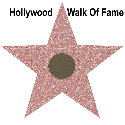 Hollywood Star Vector
