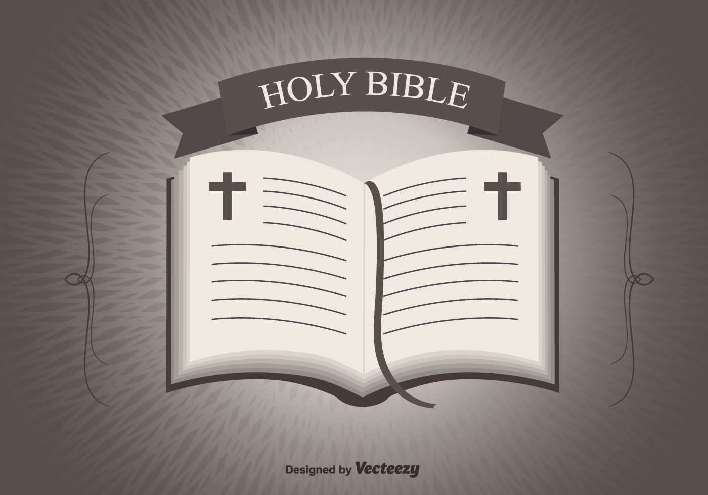 1400x980 Holy Bible Free Vector Art