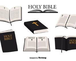 266x215 Holy Bible Vector