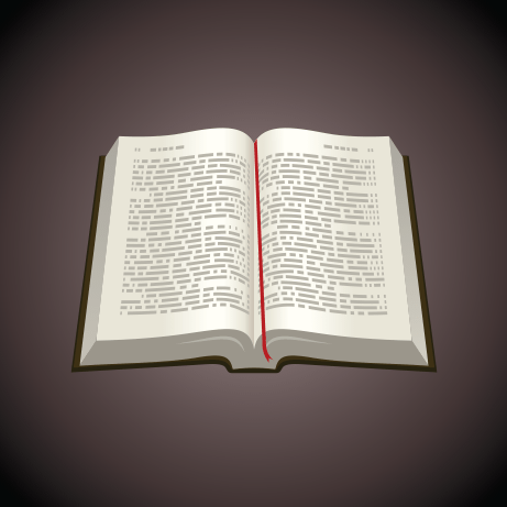 461x461 Holy Bible Vector