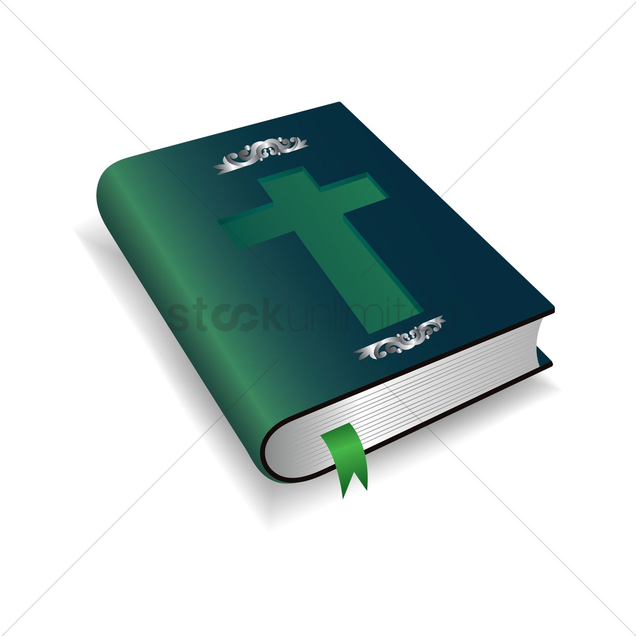 1300x1300 Holy Bible Vector Image
