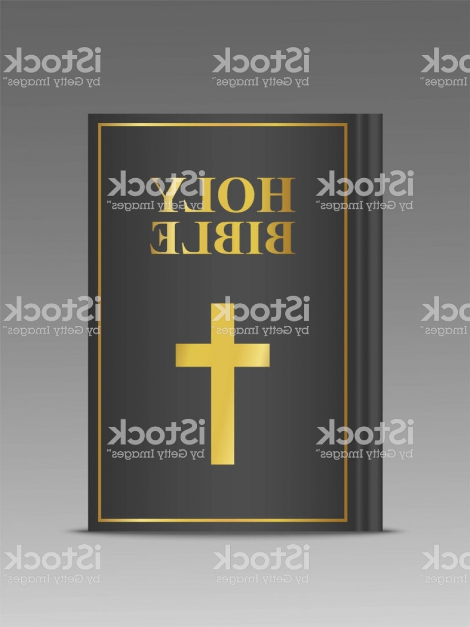 921x1228 Closed Holy Bible Vector D Template Religion Book Mock Up With