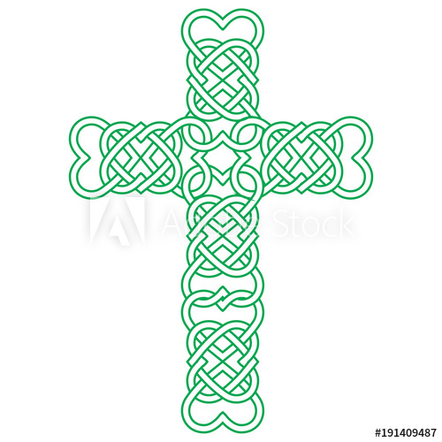 500x500 Vector Knot Illustration For Irish Community Celtic Knot Cross