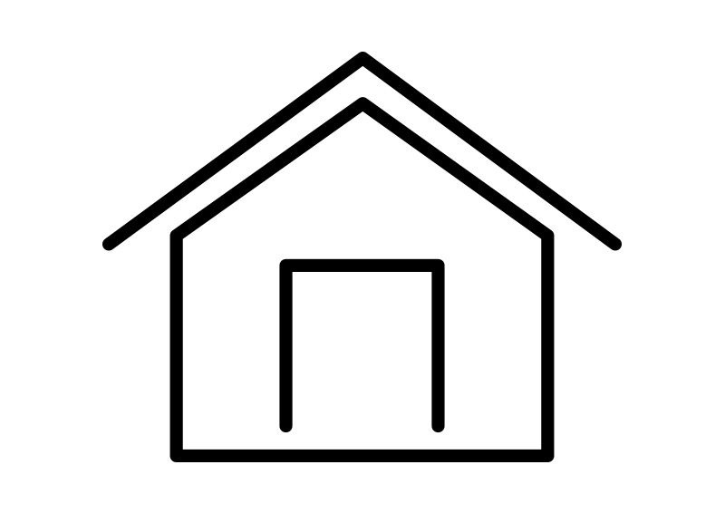 800x566 Home Outline Vector Icon