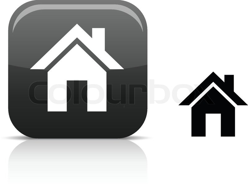 800x596 Home Beautiful Icon Vector Illustration Stock Vector Colourbox