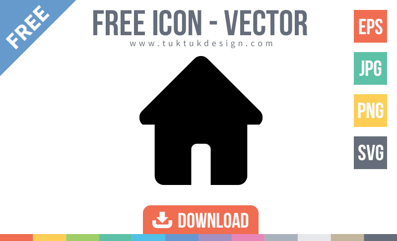 800x486 Home Icon Free Vector Image