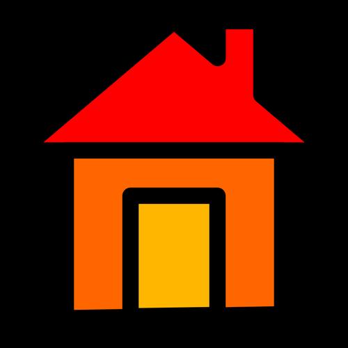500x500 Home Icon Vector Graphics Public Domain Vectors