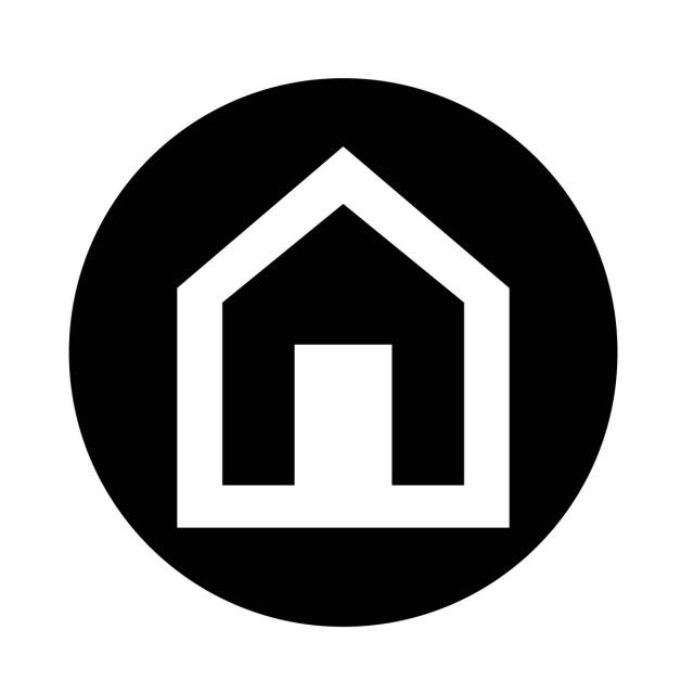 640x640 Home Icon, Architecture, Art, Building Png And Vector For Free
