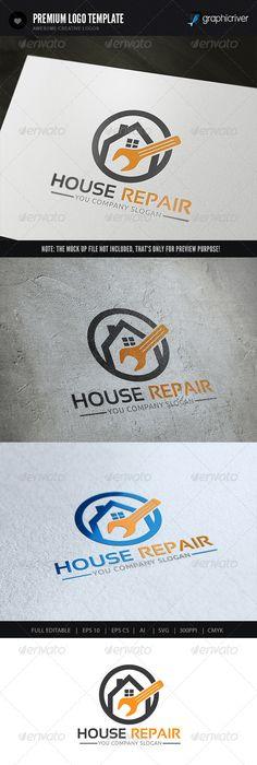 236x700 Home Improvement Logo Vector Clean Home Logo Template