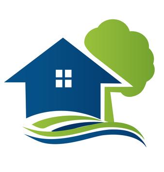 338x355 Home Logo Vector Clipart Best, House Logo Clip Art