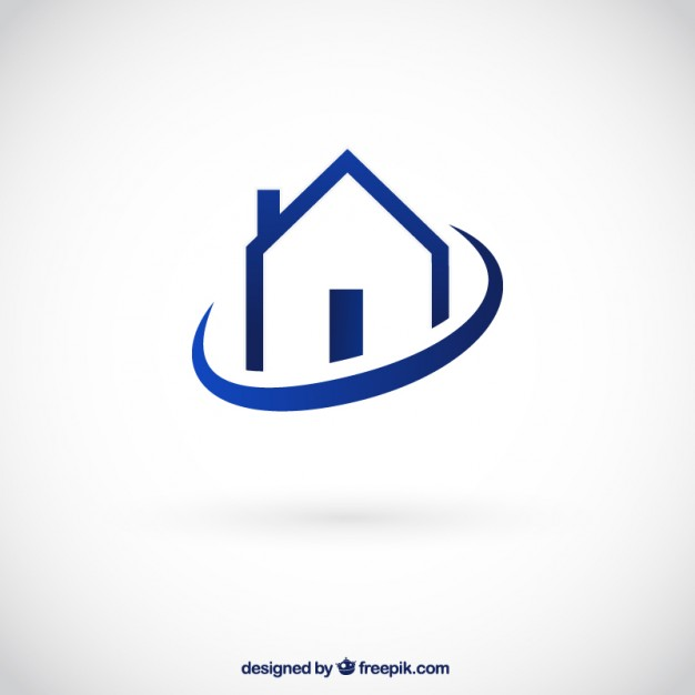 626x626 House Logo Vector Free Download