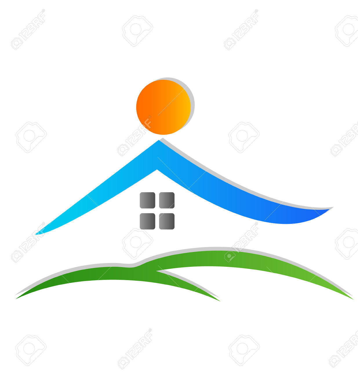 1235x1300 Vector House Image Group