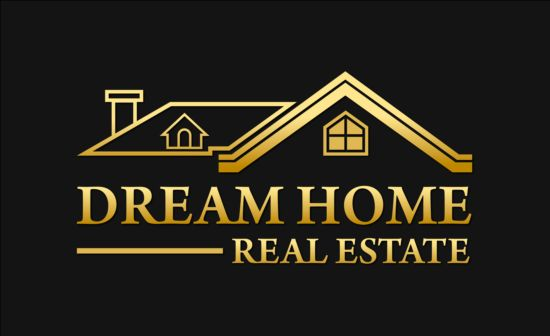 550x336 Dream Home Logo Vector Free Download