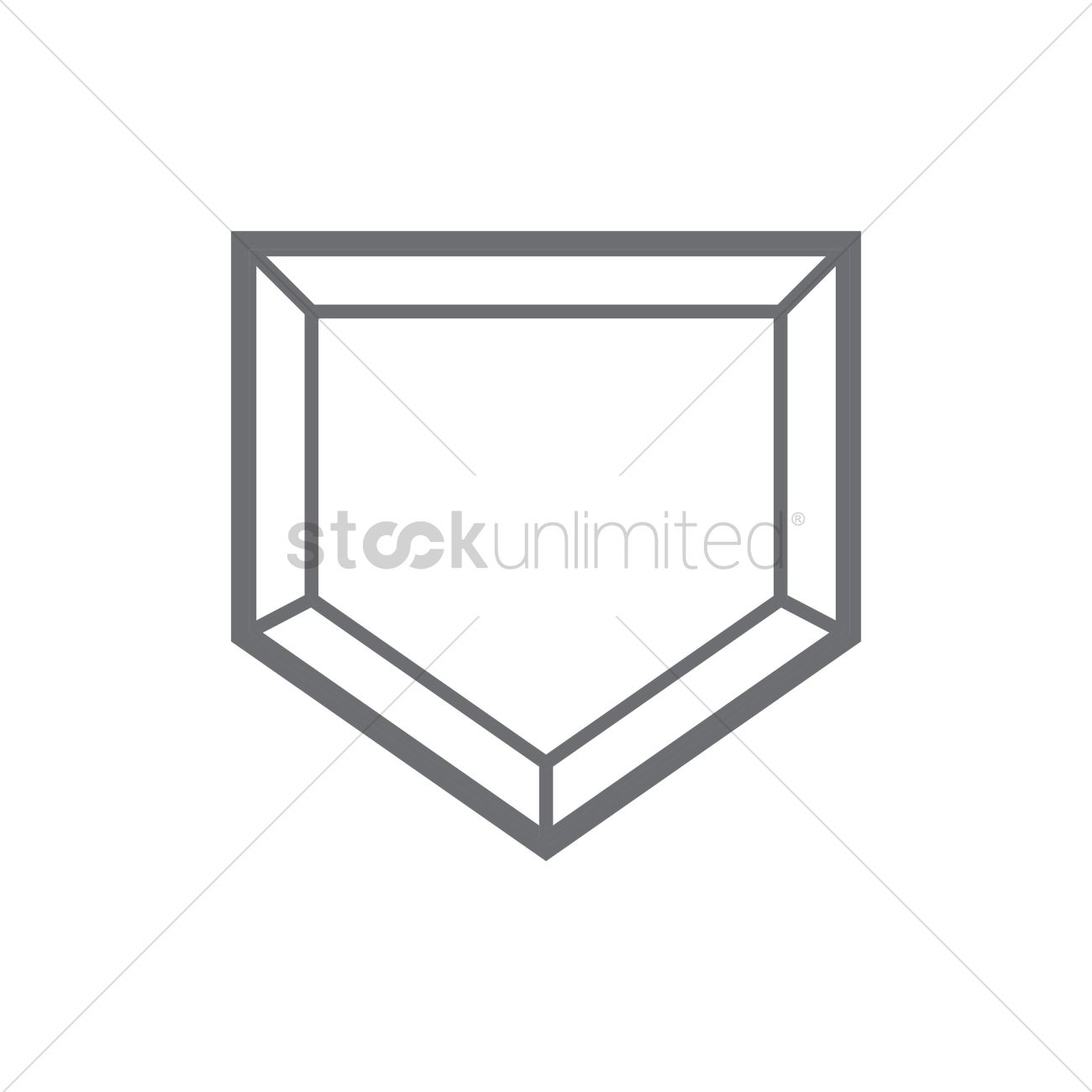 1300x1300 Free Baseball Home Plate Stock Vectors Stockunlimited