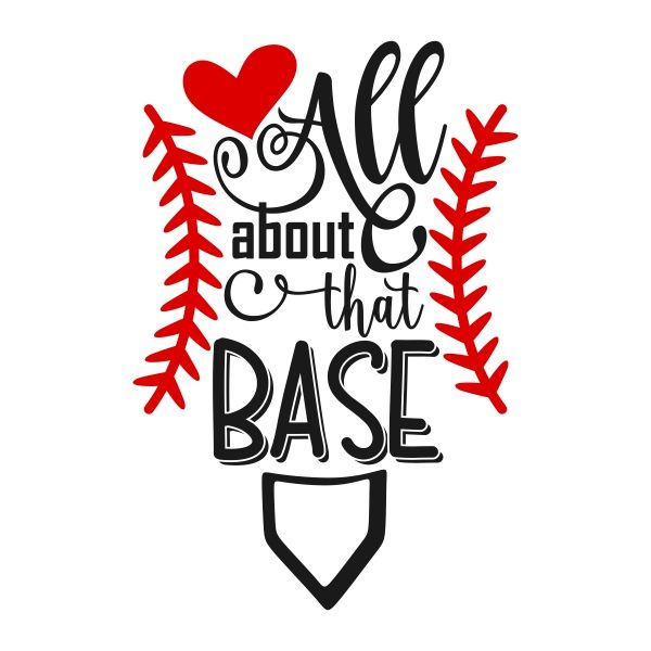 600x600 Home Plate Baseball Cuttable Design Cut File. Vector, Clipart