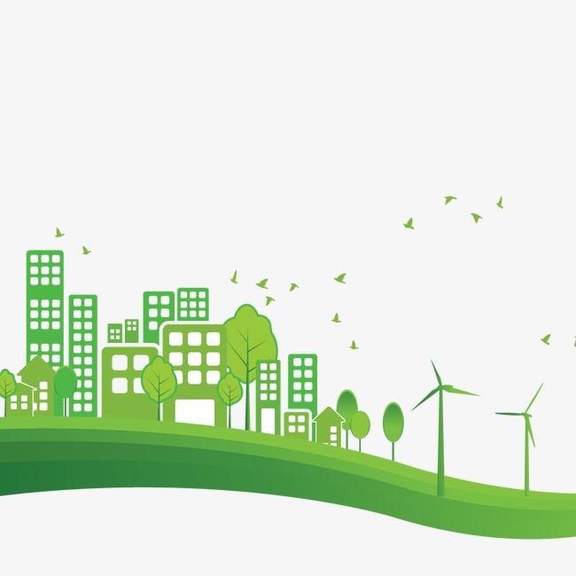 650x650 Green Homes Vector Material, Green Vector, Green Home, Green
