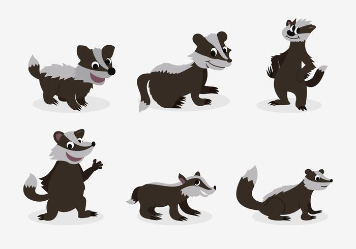700x490 Funny Honey Badger Pose Character