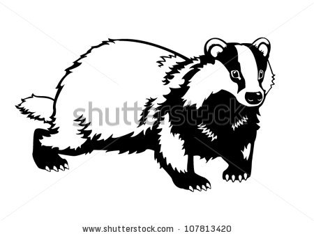 450x339 Honey Badger Clipart Tribal Free Collection Download And Share