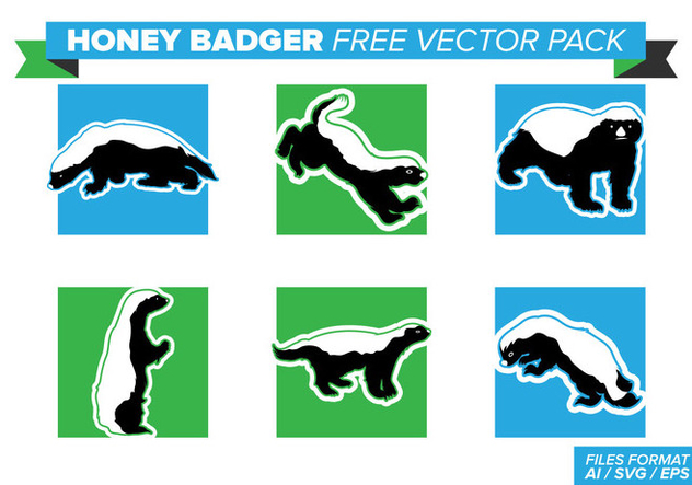 632x443 Honey Badger Free Vector Pack Free Vector Download 404369 Cannypic