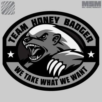 350x350 Honey Badger Clipart Scared