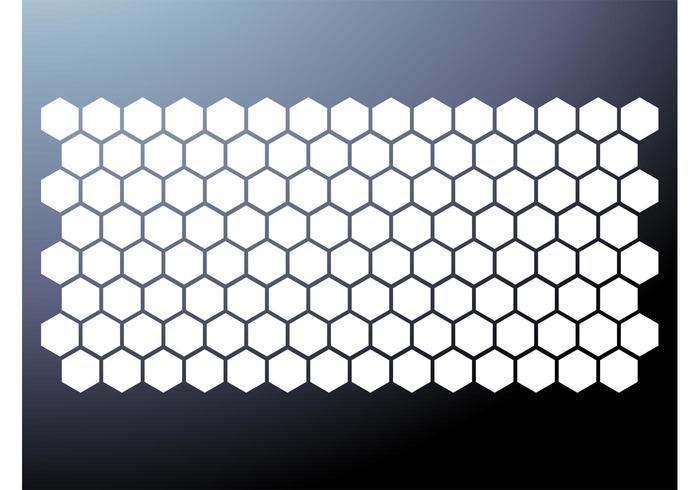 700x490 Honeycomb Pattern Vector