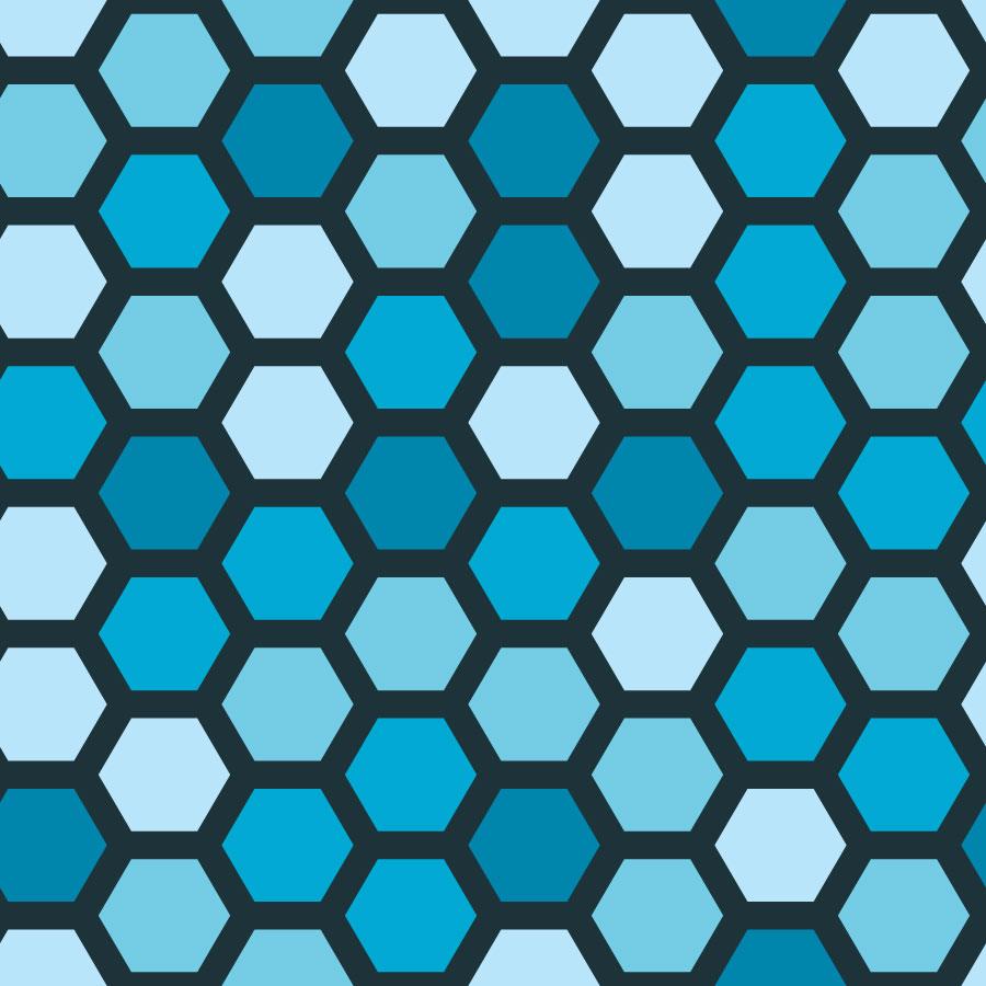 900x900 Honeycomb Pattern Vector