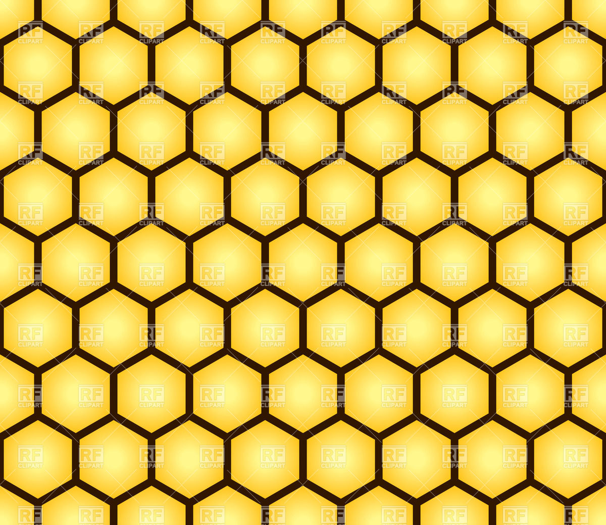 1200x1039 Honeycomb Seamless Pattern Vector Image Vector Artwork Of