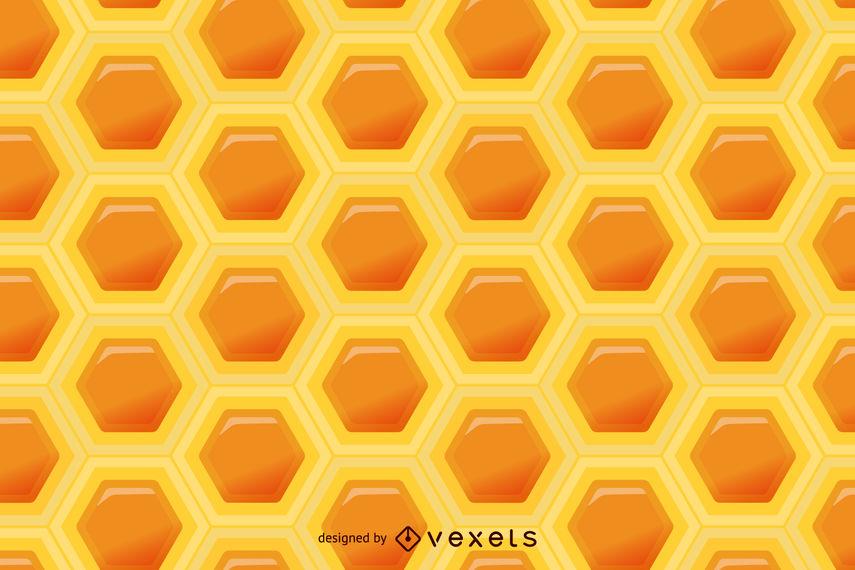 855x570 Seamless Honeycomb Pattern
