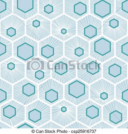 450x470 White Vector Honeycomb Pattern Design Over Light Blue Background.
