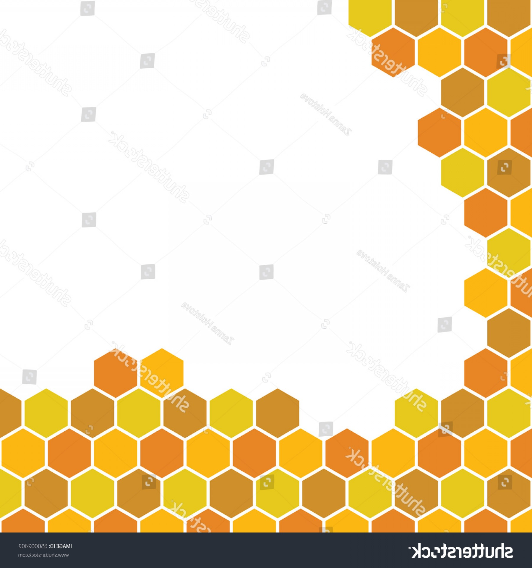 Honeycomb Pattern Vector At Getdrawings