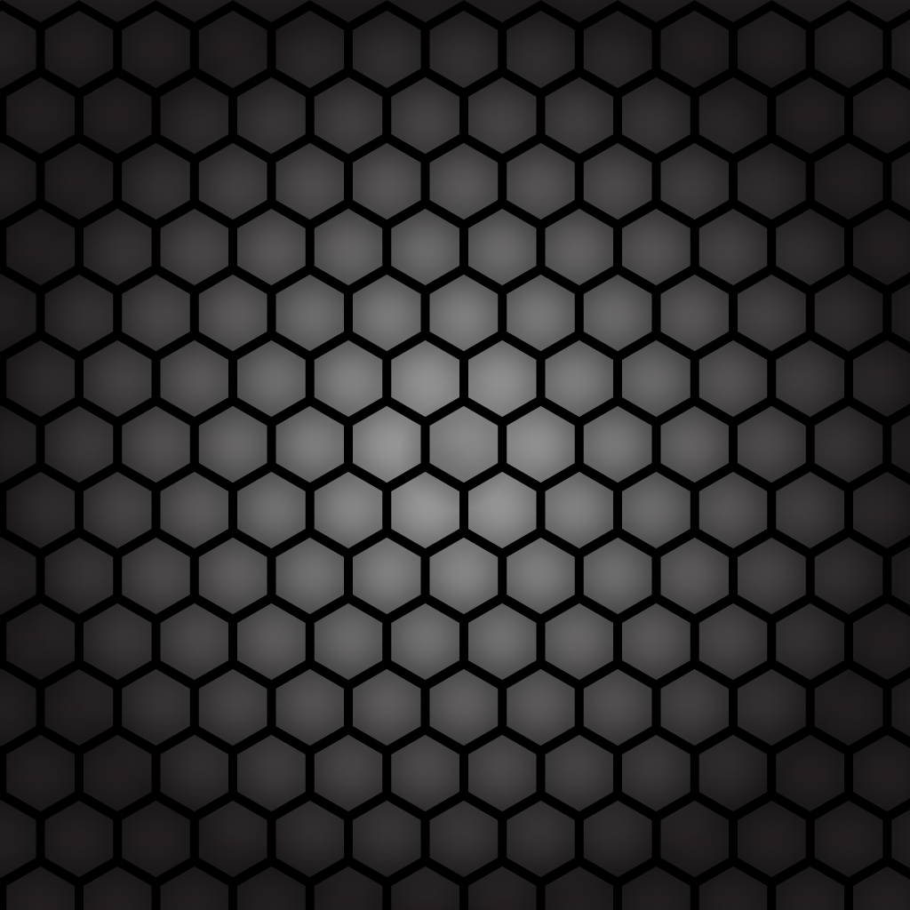 1024x1024 Black Honeycomb Pattern Vector Free Vector Download In .ai, .eps