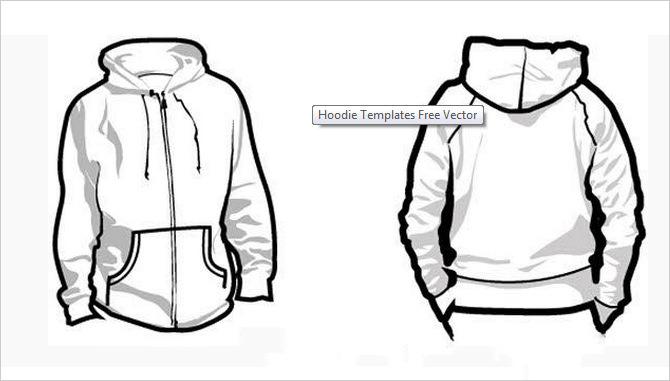Hoodie Vector