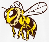 190x162 Hornet Wasp Insect Fly Wildlife Vector Image Logo By Andriy