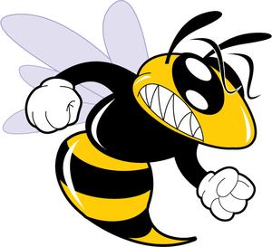 300x273 A Cartoon Hornet Clipart Free Images